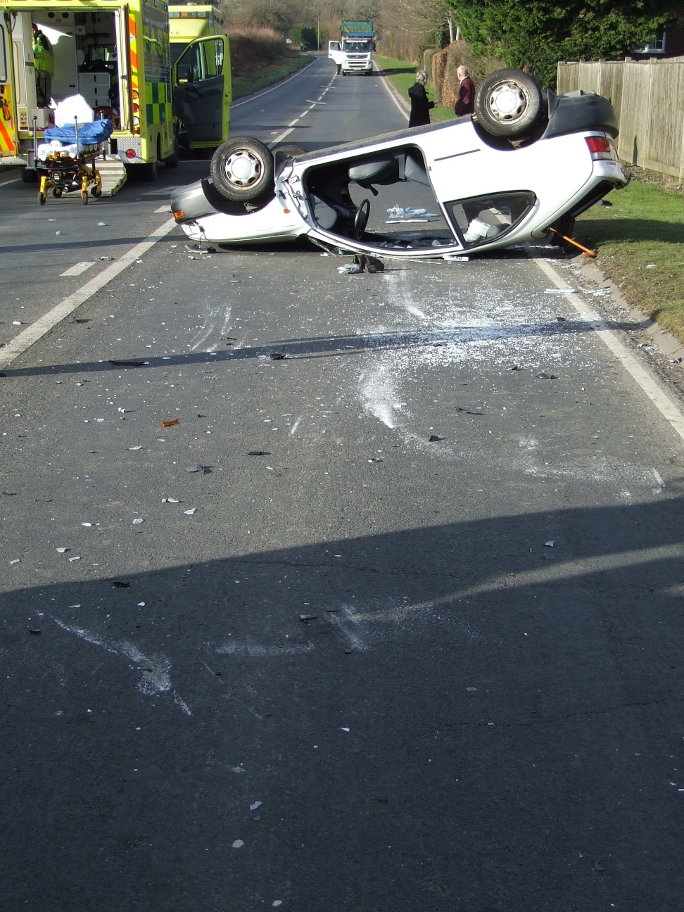 Car Accident On Sussex County