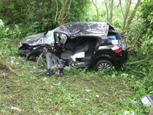 Crash A27 near Drusillas