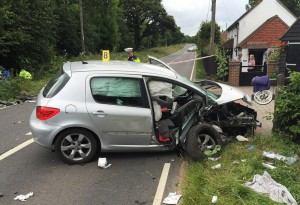Car Crash Wellshurst A267